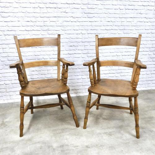 2 x Windsor Barback Armchairs (1 of 5)