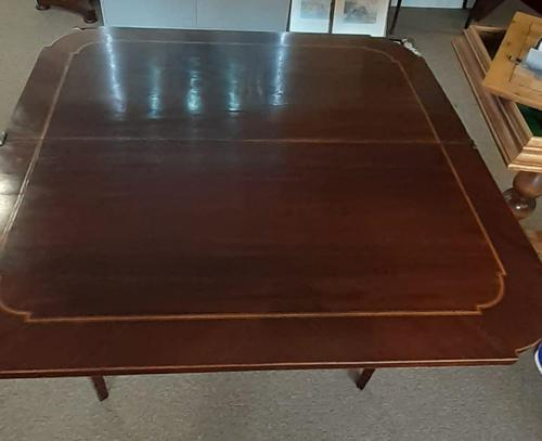 Mahogany Fold Over Table (1 of 8)
