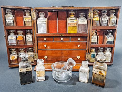 Mahogany Apothecary Cabinet (1 of 8)