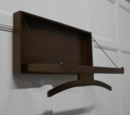 French Pullman Style Clothes Rack from a Ferry Cabin (1 of 8)