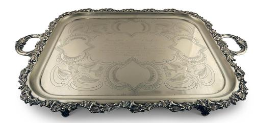 Sheffield Plated Tray (1 of 6)