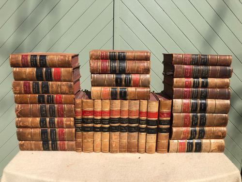 30 Antique Leather Bound Law Books 1919-1947 (1 of 6)