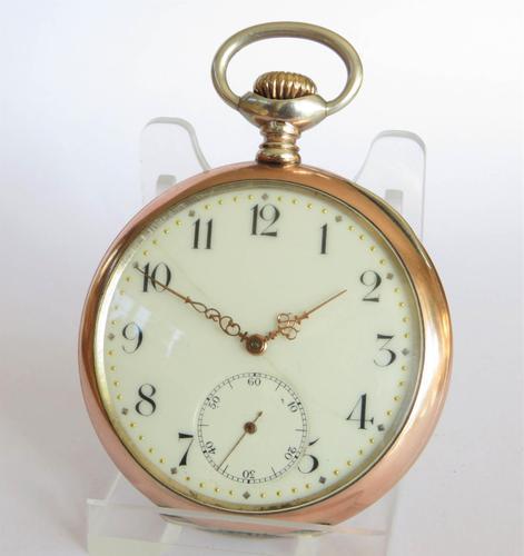 Antique Zenith Pocket Watch, 1913 (1 of 5)