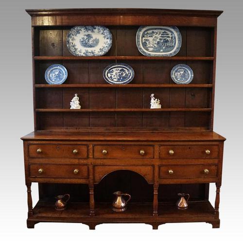 Antique Oak Shropshire Dresser (1 of 7)