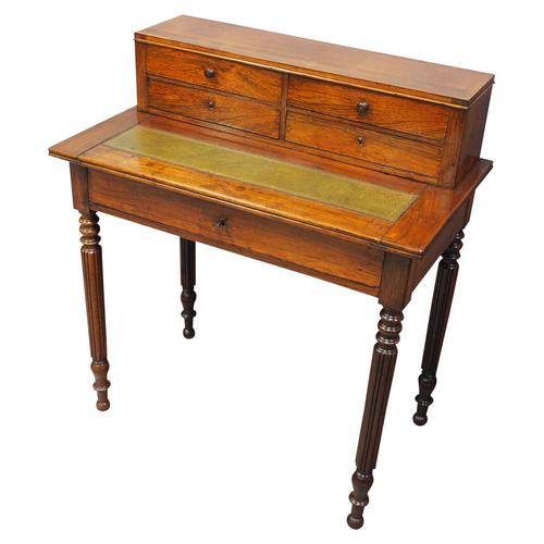 French Rosewood Writing Table (1 of 12)