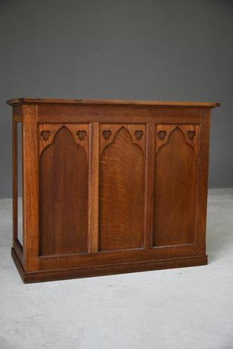 Ecclesiastical Oak Counter (1 of 12)