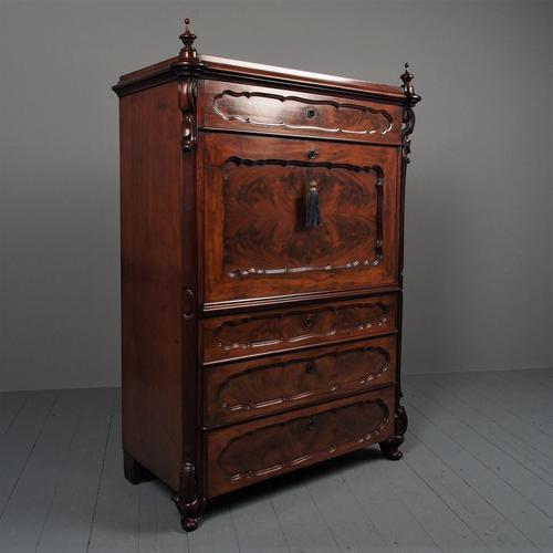 Antique Biedermeier Secrétaire à Abattant (1 of 15)