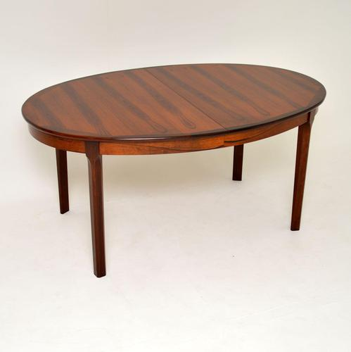 1960's Danish Rosewood Extending Dining Table (1 of 11)