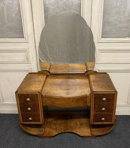 Iconic Burr Walnut Art Deco Dressing Table (1 of 22)