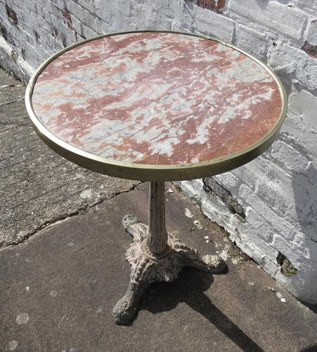 French Bistro / Cafe Table c.1900 (1 of 13)