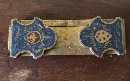 Victorian Hand Painted Extending Book Rest c.1880 (1 of 7)