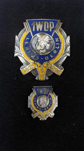 WW2 Polish 1st Tadeusz Kosciuszko Infantry Division - Breast Badge & Stick Pin (1 of 5)
