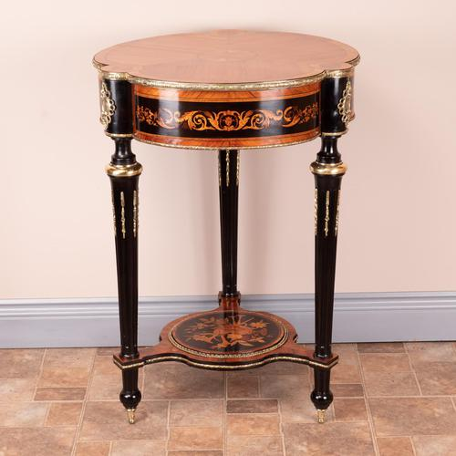 Fine Quality French Marquetry & Ormolu Mounted Occasional Table (1 of 24)