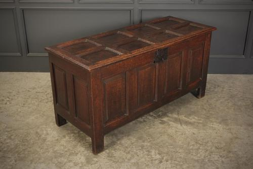 18th Century Oak Coffer Blanket Box (1 of 13)