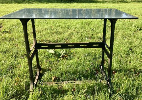 industrial Based Granite Top Table (1 of 3)