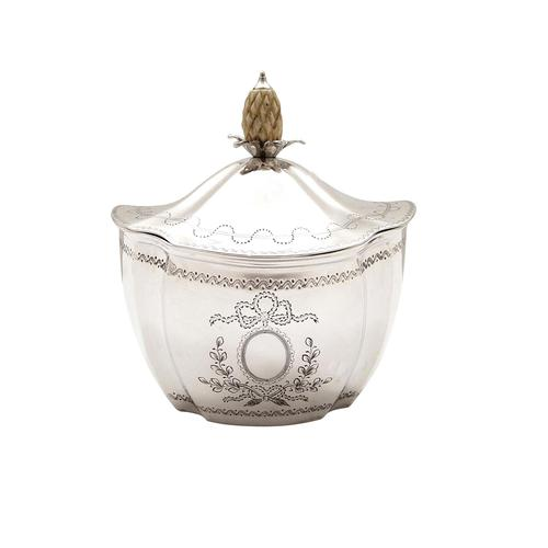 Antique Edwardian Sterling Silver Caddy 1901 (1 of 10)