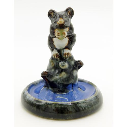 A Rare Royal Doulton Lambeth Antique Art Pottery Mouse Bibelot C. 1920's (1 of 6)