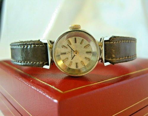 Vintage Ladies Omega Wrist Watch 1968 17 Jewel Steel Case Serviced FWO (1 of 12)
