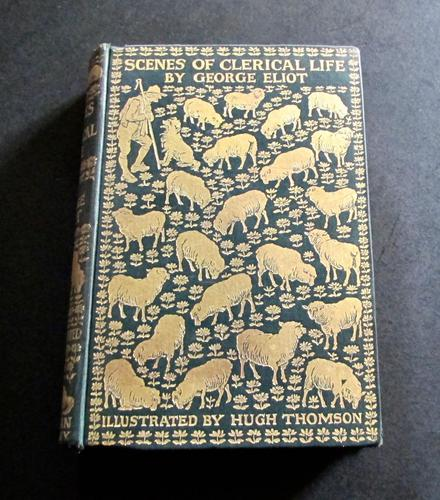 1906 Scenes of Clerical Life by George Eliot (1 of 5)