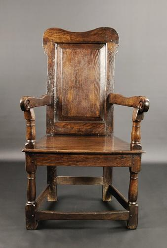Early 18th Century Welsh Wainscot Chair (1 of 10)