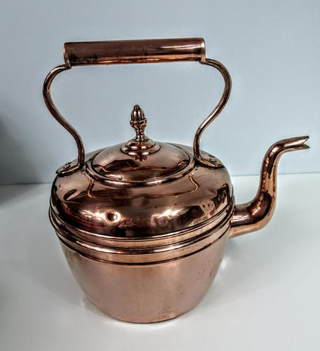 Late Victorian / Early 20th Century Copper Kettle (1 of 6)