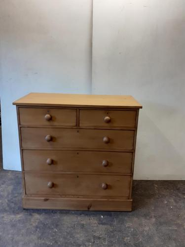 5 Draw Pine Chest (1 of 3)