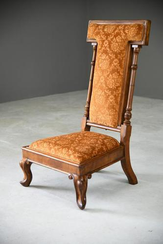 Victorian Walnut Occasional Chair (1 of 11)