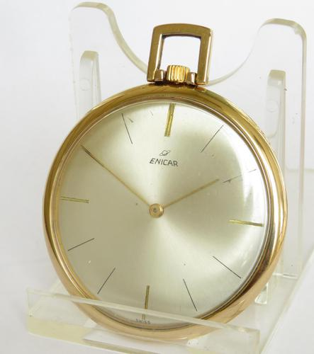 1960s Enicar Pocket Watch (1 of 4)
