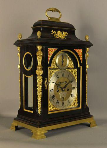 Fine Verge Fusee Bracket Clock - William Smith, London (1 of 9)