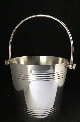 Art Deco Silver Plated Ice Bucket (1 of 4)