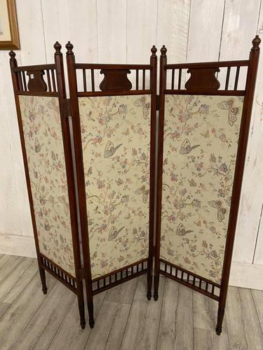 Edwardian Panelled Dressing Screen (1 of 5)