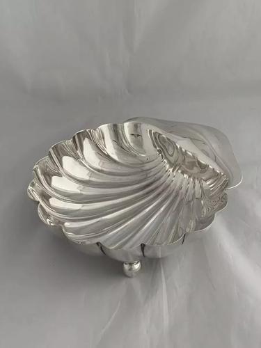Edwardian Silver Shell Bowl 1902 Sheffield HENRY ATKIN Large Size Antique (1 of 10)