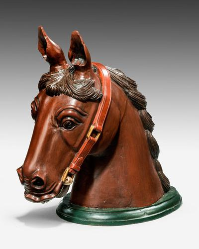 Early 20th Century Horse Head Mount (1 of 6)