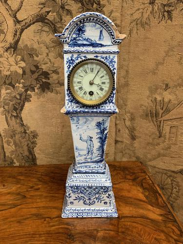 Rare 19th Century Dutch Delft Clock (1 of 8)