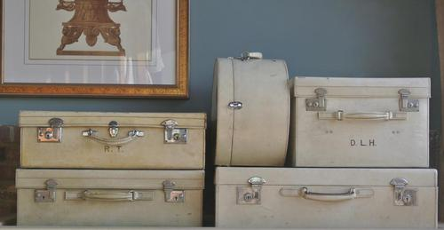 Set of Vintage Luggage (1 of 12)