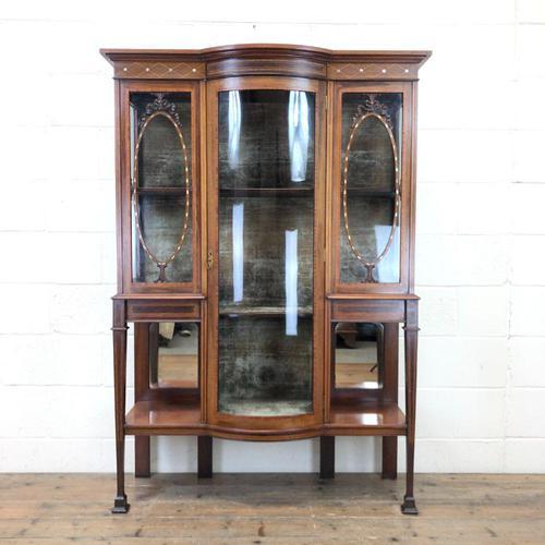 Antique Glazed Display Cabinet (1 of 14)