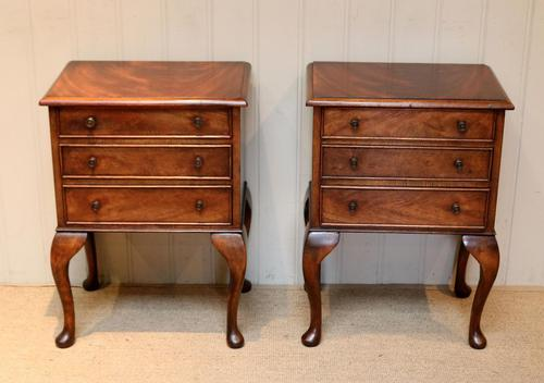 Pair of Mahogany Bedside Cabinets (1 of 10)