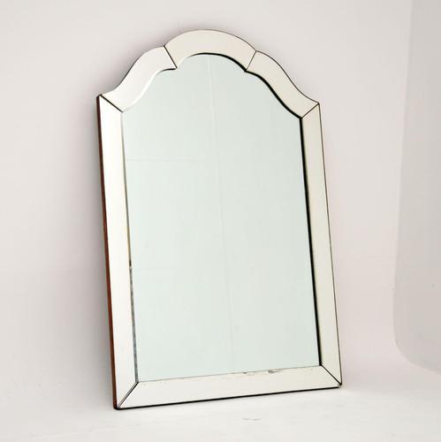 Art Deco Vintage Etched Mirror (1 of 7)