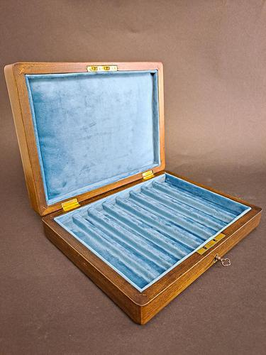 1920s Oak Fountain Pen Box (1 of 5)