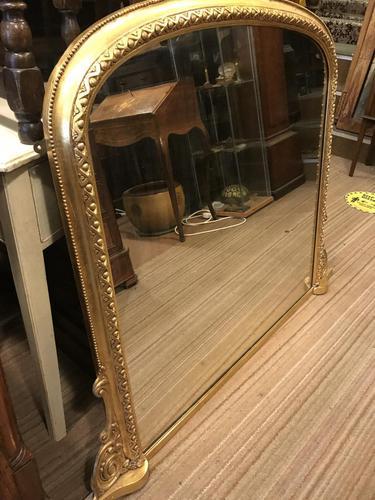 Victorian Gilt Mirror (1 of 10)