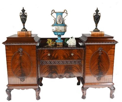 Gillows Sideboard Server Mahogany Buffet c.1880 (1 of 11)