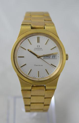 1973 Omega Geneve Day-date Wristwatch (1 of 8)