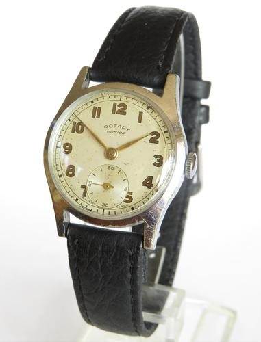 Mid-size Rotary Junior wrist watch, c1950s (1 of 5)