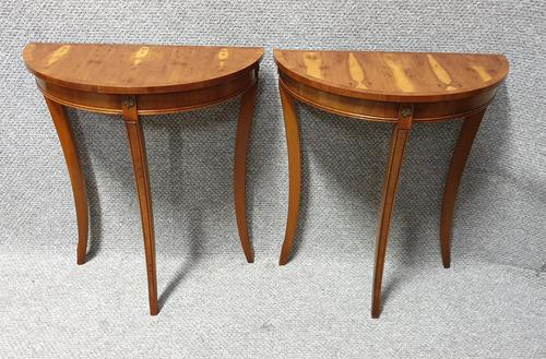 Pair of Small Console Tables (1 of 6)