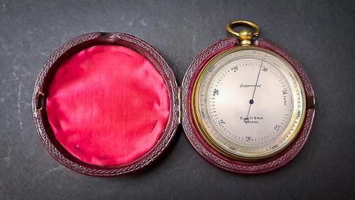 19th Century Pocket Barometer (1 of 6)