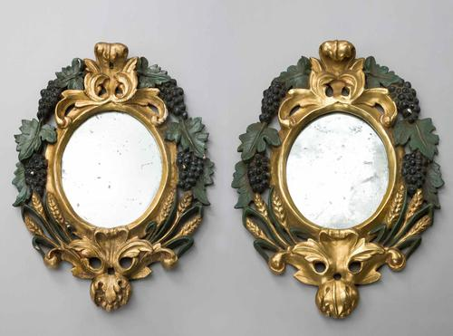 Pair of Late 19th Century Italian Mirrors (1 of 5)