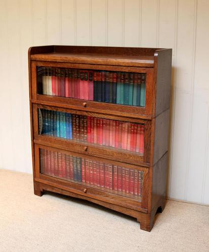 1920s Oak Stacking Bookcase (1 of 9)