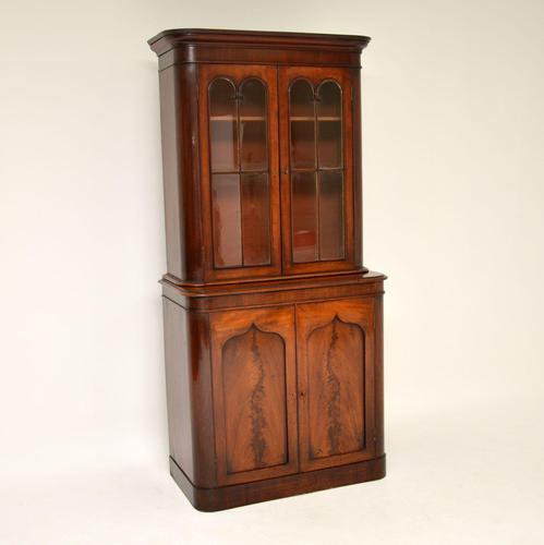 Antique William  IV Mahogany Library Bookcase (1 of 9)