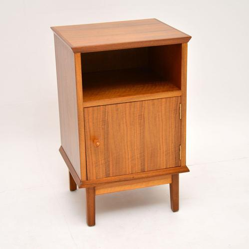 Vintage Walnut Bedside Cabinet by Alfred Cox (1 of 7)