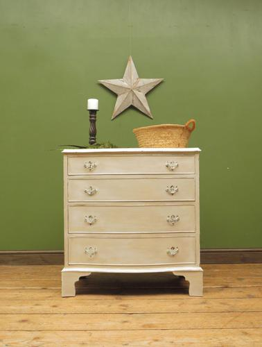 Small Gustavian Style Painted Chest of Drawers (1 of 10)